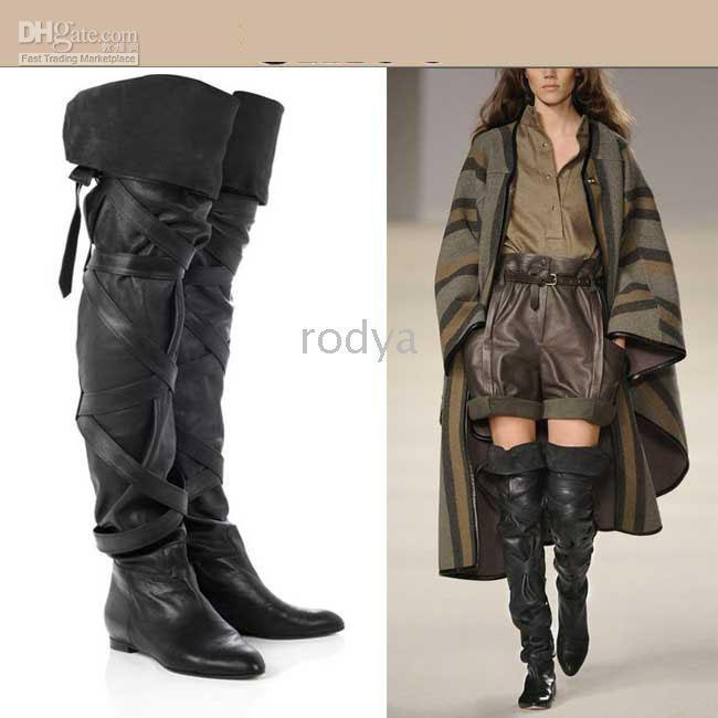 Womens Thigh High Boots ,Womens Boots,Women's Shoes,Black Women's ...