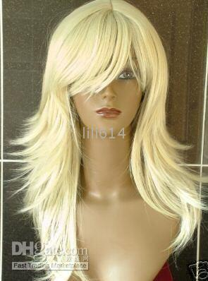 Wholesale Pretty Stylish short straight and wave Man Made Wigs STYLE