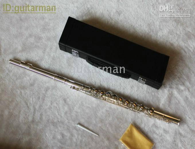 Wholesale Woodwind S Flute with case hole Flutes Musical Instruments Woodwind Flute