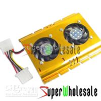 Wholesale 100pcs kit Cooler Cooling Fan for PC HDD Hard Disk Drive
