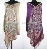 Wholesale 2PC PASHMINA HANDMADE SHAWL SCARF