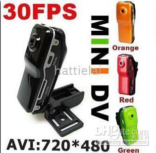 Wholesale Whole salle Mini Sport Spy Cam DV DVR fps DVR wihtout retail box