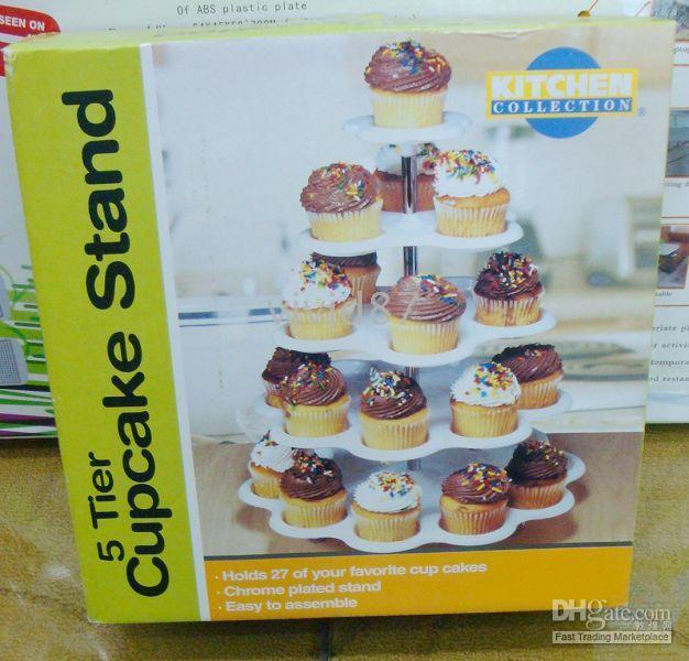 Wholesale 5 Tier Cupcake Stand Cake Decorating