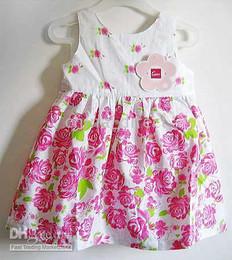 Girls 100% cotton Summer Dress Suits TOP SHORTS Shirt Overalls one-piece DRESS Skirts 23 pcs lot