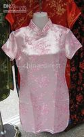 Wholesale Silk Dress Cheongsam Prom Dresses Qipao gown dress Party dress Girls