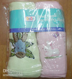 baby Receiving Blankets Baby Blanket 2pcs each bag 11bags lot