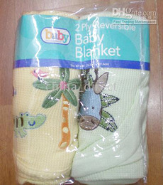 baby Receiving Blankets Baby Blanket 2pcs each bag 11bags lot new