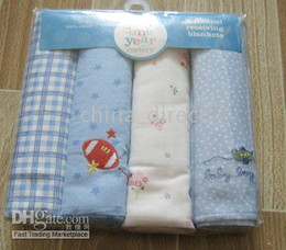 baby Receiving Blankets Baby Blanket 4pcs each bag,5bags lot