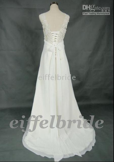 Ankle-Length 2010 wedding dresses - Custom made Limited only hot Maternity wedding dresses with high quality
