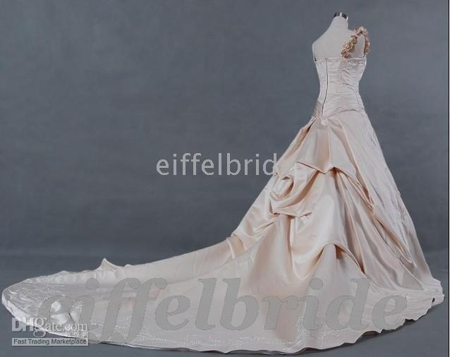 Wholesale Custom made Limited only hot Princess wedding dresses with high quality
