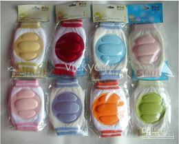 Wholesale -Infant Gear baby genouillere set baby knee cap knee pad kneeboss kneecap kneepad mixed colors--QY6