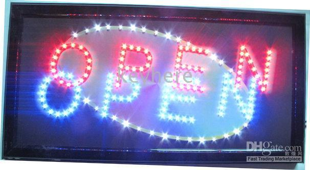business open sign - 20pc JX XP Led business open sign panel solar light support mixed item and DIY picutres