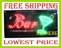 Wholesale 20pc JX XP Led business bar sign suit for the Bar KTV ect support mixed item and DIY picutre