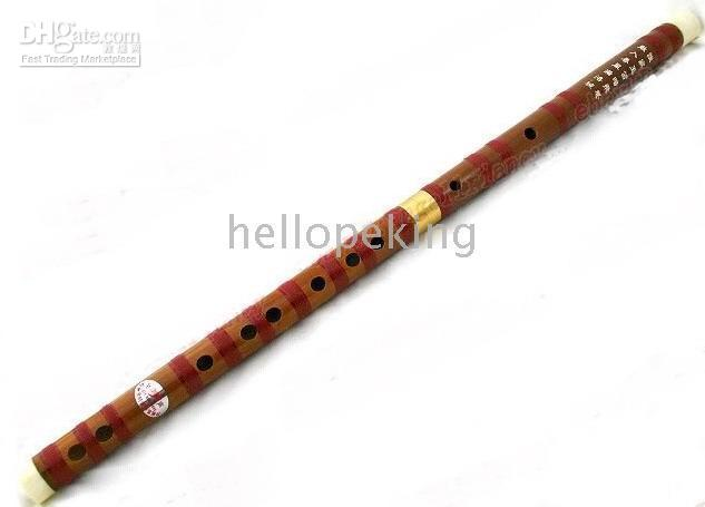 Wholesale Wonderful bamboo Musical Instruments Flute with bag