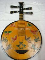 Wholesale Rare Chinese Wooden Musical Instrument Butterfly lute