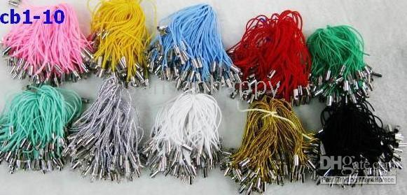 Wholesale Cell Phone silk cords for pendants strings mix order