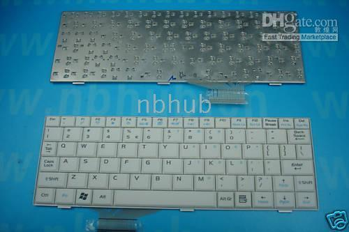 White asus us notebook - NEW ASUS EEEPC White Notebook Keyboard US month warranty