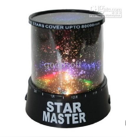 Wholesale Sky Star Lamp Night Light houses Gift Magic Projector Holloween Party Lights Night Sky Star Light