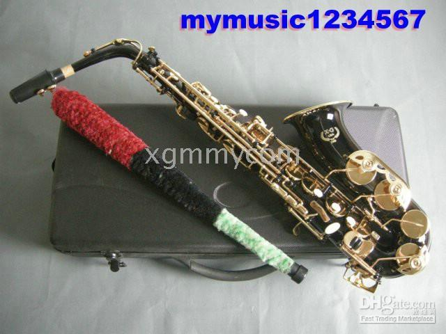 Wholesale Promotions New black Alto Saxophone alto sax withcase