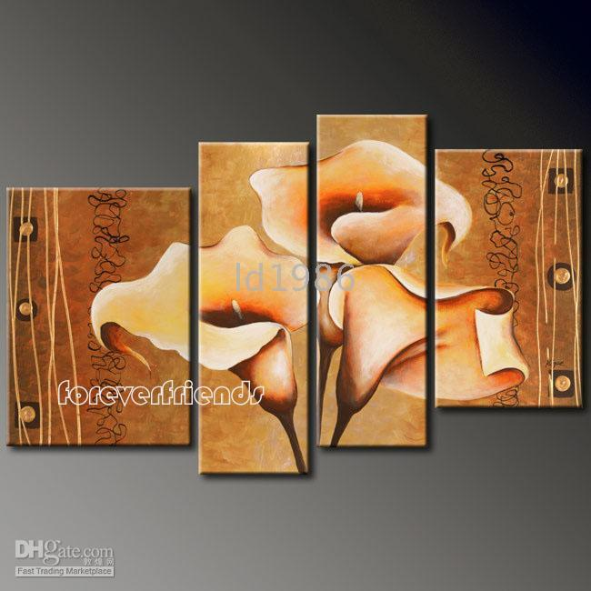Wholesale 100 handicraft Modern Abstract art oil painting on canvas