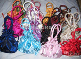 Chinese traditional Totes bag,Gift bags purse coin bag,present bag 50pc lots lots design color