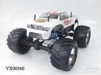 Wholesale 1 Speed Gearbox Engine MAD Force WD Nitro RC Monster Truck RTR