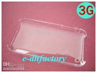 Wholesale Clear Crystal Hard Case Cover For Iphone G