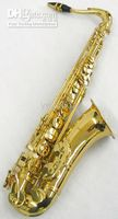 Wholesale Times alto Phyllis hand graving craft of Tenor Gold Lacquer Saxophone