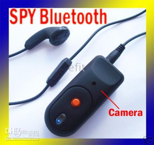 Wholesale 30pcs NEW GB Bluetooth SPY Hidden DVR Camera Video
