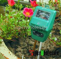 Wholesale 3in1 Hydroponic Plants Soil Plant Flower Moisture Tester PH Light Meter in