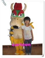 Wholesale Super Mario Bros King Bowser Mascot Costume Child Size