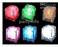 LED Flashing Lightup Ice Cube for Party Wedding Halloween, C...