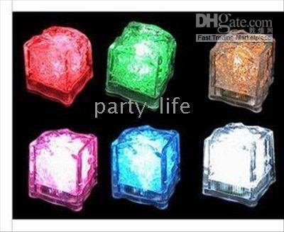 Wholesale LED Flashing Lightup Ice Cube for Party Wedding Halloween Christmas