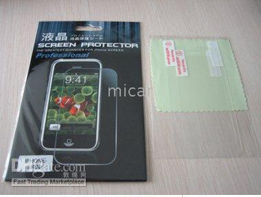 Wholesale 100pcs Screen Guard Protector iPod iphone top quality