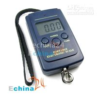 Digital scale 50-100g  100 pcs 40KG 20g Mini LCD Digital Pocket Luggage Fish Fishing Hanging Scale 88lb 1410oz scales