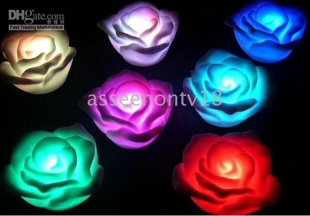 Wholesale Electronic LED Color Change Roses Novelty Lights