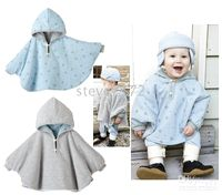Wholesale Baby ourterwear coats children cape sweaters outfits baby dress smock cloak baby clothing ST A