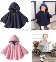 Wholesale Baby ourterwear coats girls cape sweaters outfits baby dress smock baby cloak baby clothing ST A