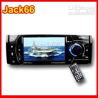 Wholesale 4 inch Car DVD Player DIN Bluetooth Detachable Front Panel
