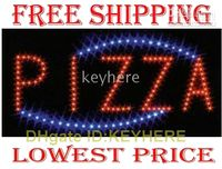 Wholesale LED Neon Light Animated Motion PIZZA Business Sign neon lamps led sign light for PIZZA