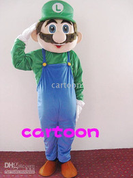 Wholesale NEW Super Mario Bros L Mascot costum Free S H
