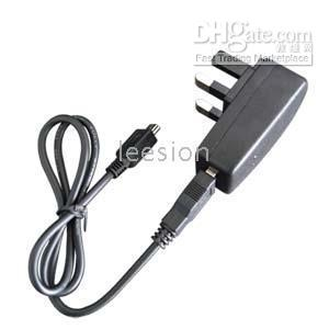 Wholesale 20pcs per USB connector Power Adaptor AC to USB for MP3 MP4 MP5 Player UK Plug