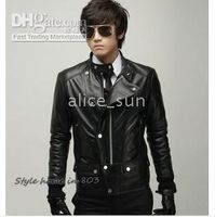 Wholesale hot selling Men s leather casual jacket coats