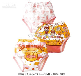 Anpanman Baby Training Pants Learning pants underwear Diaper Covers pp pant three layer pants TZ62