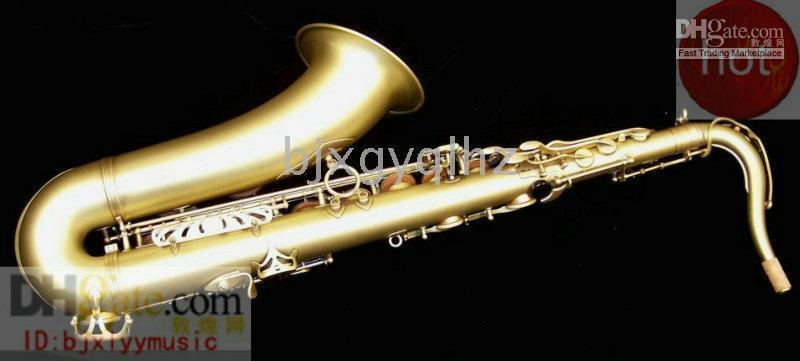 Wholesale HOT Gold plated Tenor saxaphone High F accessories with case