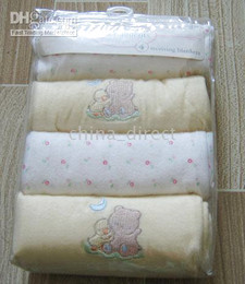 baby Receiving Blankets Baby Blanket 4pcs each bag,8bags lot