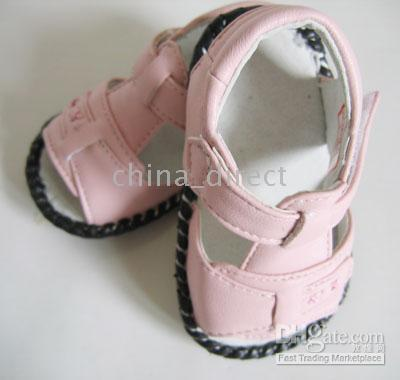 Wholesale Baby Shoes toddler Summer Leather shoes baby slippers sneakers sandals pair