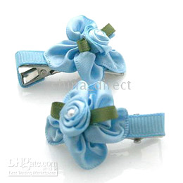 Girls Hair Claw clips Hair snap Bows Barrette girl hairbow 100pairs lot