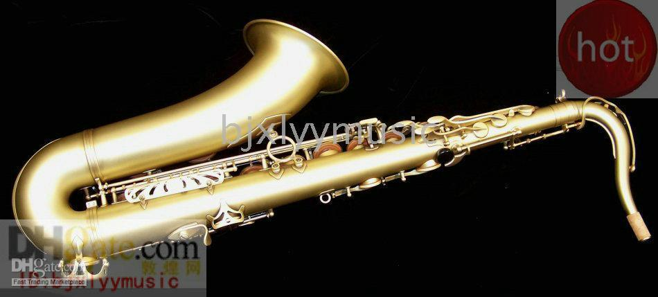 Wholesale HOT Antique Copper Tenor saxaphone High F accessories with case