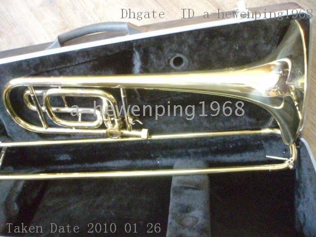 Wholesale TROMBONE XG CONCERT GOLD BAND TROMBONES Bb F